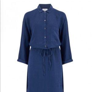 Velvet by Graham&Spencer Easy wearing blue dress